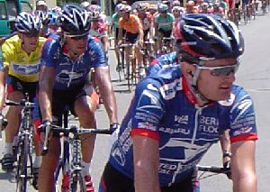 Tour de France in Sisteron 2003